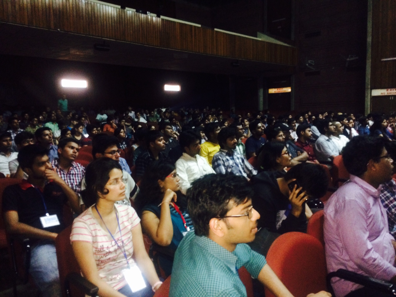 IIT Kanpur lecture audience 032115